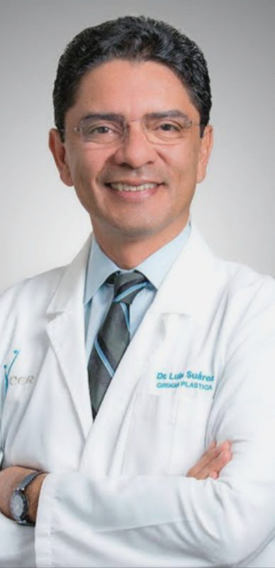 Dr. Luis Suares, Board certified plastic surgeon in Tijuana Mexico