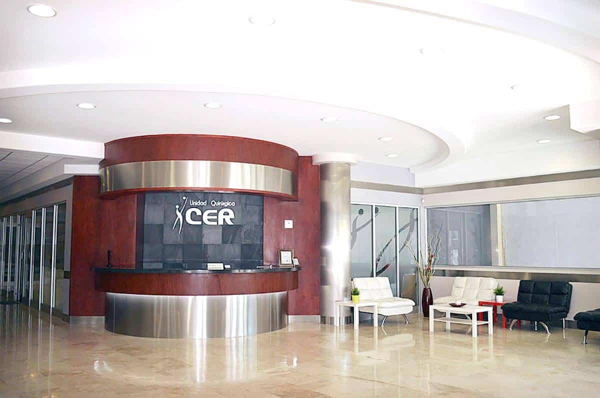 Mexico hospital lobby