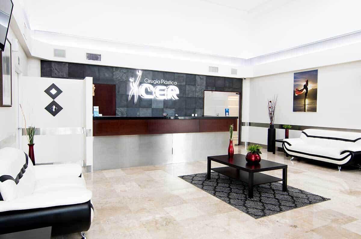 Plastic surgeon consultation room