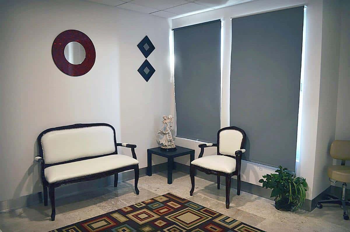 Tijuana Mexico plastic surgeon consultation room